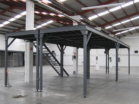 Galu dise os tubulares estructuras met licas en - Estructuras metalicas para terrazas ...