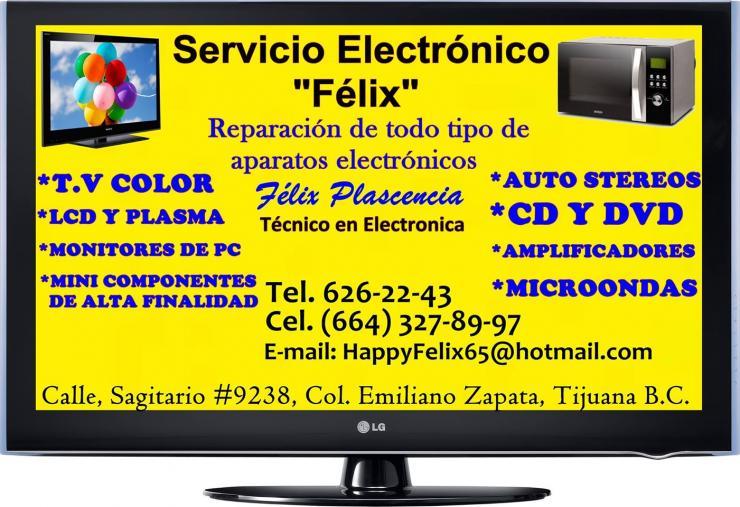 Tv Servicio Electronico Felix Servicio De Reparacion De