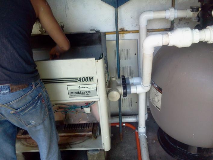 Alberca y equipos instalaciones hidraulicas y electricas for Caldera para alberca
