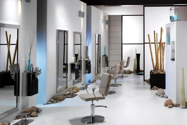 Muebles para estetica g j muebles dise o de muebles en for Salones de peluqueria decoracion fotos