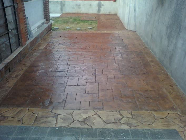 Imperac servicios concreto estampado en cuernavaca for Cemento estampado precio