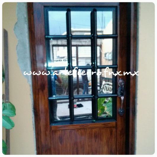Arte fierro puertas y ventanas de hierro en ecatepec de for Modelos de puertas principales de fierro