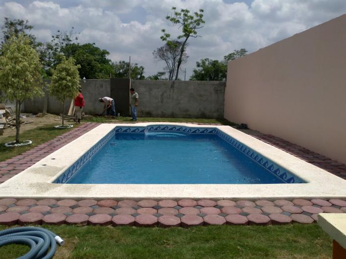 Pisinas del sureste construcci n de albercas en cunduacan for Construccion de albercas en mexico