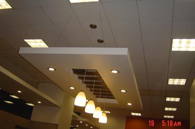 Murofacil muros y plafones tablaroca durock en reynosa for Plafones de pared para escaleras