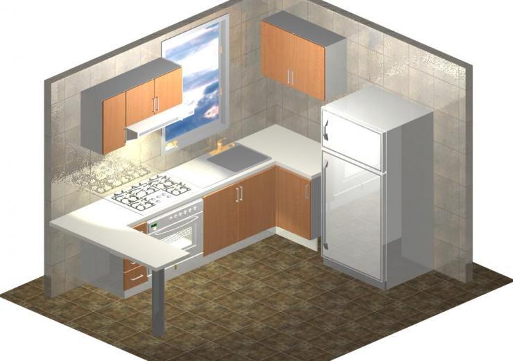 Cocinas y muebles integrales equipamiento para cocinas for Muebles industriales