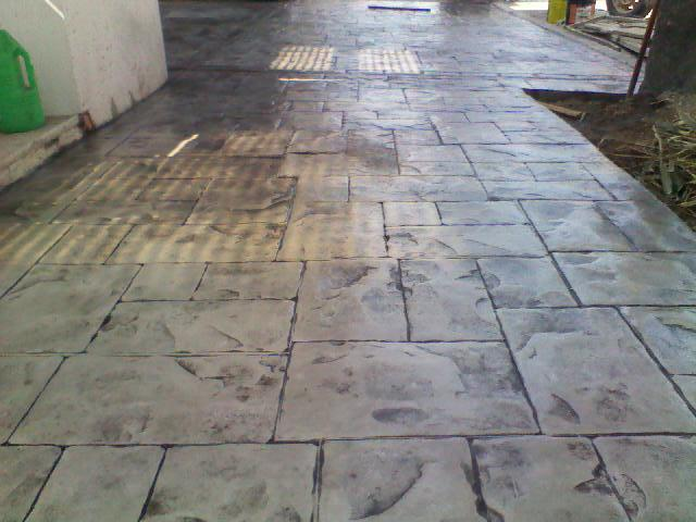 Pisos estampados coatza en coatzacoalcos tel fono y m s info for Pisos para patios interiores
