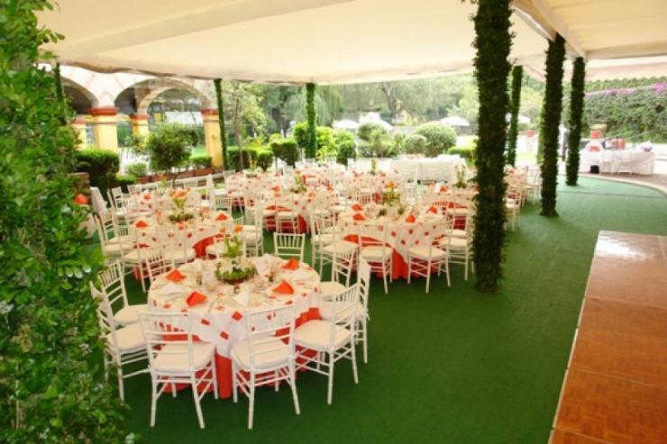Val stef banquetes en coyoacan tel fono y m s info for Jardines pequenos para eventos df
