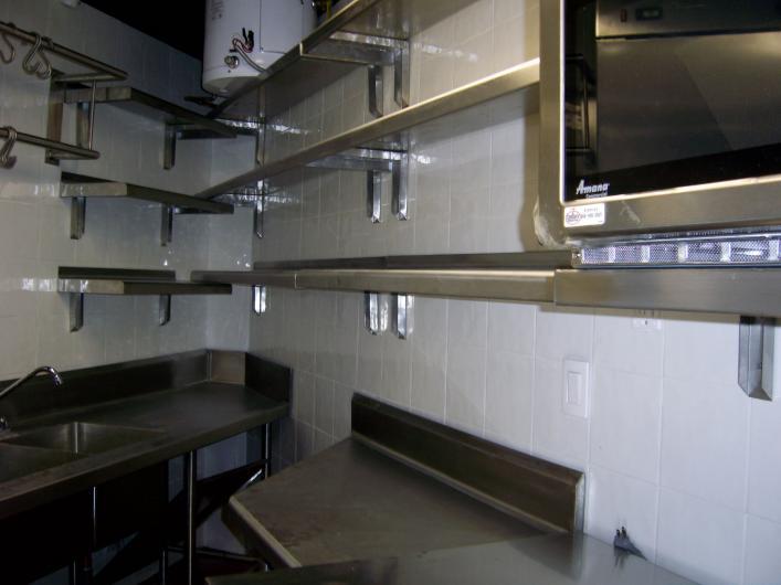 Cocinas inoxidables alart muebles de acero inoxidable en for Cocinas de acero inoxidable para restaurantes