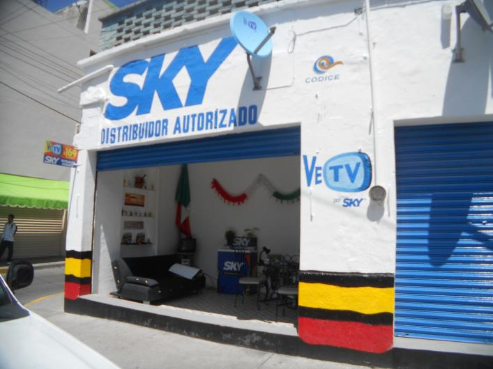 distribuidor autorizado sky tv digital en irapuato