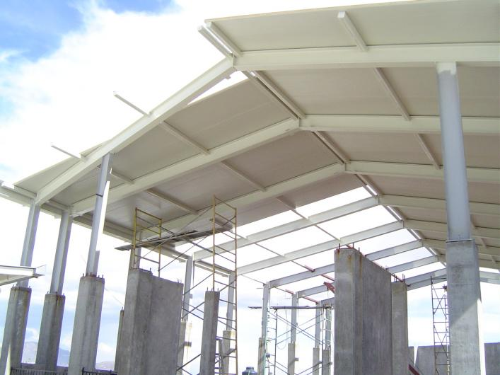 Estructuras y techos metalicos revamimantenimiento de - Estructura metalicas para casas ...