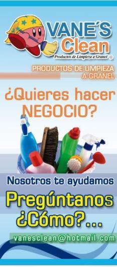 Vane s clean productos de limpieza a granel en acapulco for Empresas de limpieza en valencia que necesiten personal
