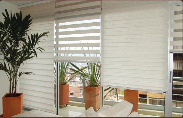 Soluciones decorativas persianas enrrollables y cortinas for Cortinas decorativas