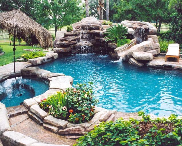 Piscinas residenciales de tampico dise o de ambientes - Diseno de piscinas naturales ...
