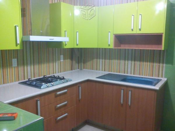 Cocinas integrales reparaciones cocinas de lamina en for Laminas decorativas para cocinas