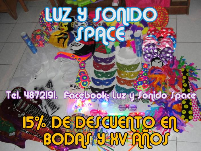 Audio Iluminacion Y Video Luz Y Sonido Space Musica Y