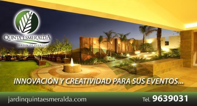 Quinta esmeralda menues gourmet para eventos en for Jardin quinta esmeralda aguascalientes