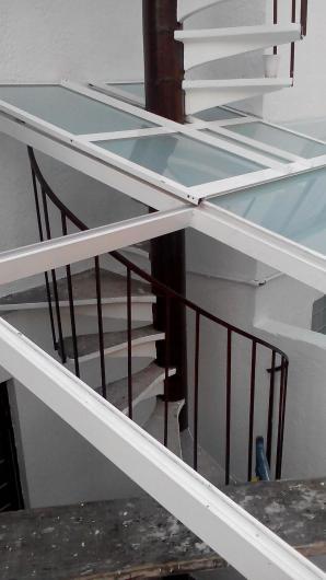 Herreria vidrio y aluminio reygadas valdos techados de - Vidrio de policarbonato ...