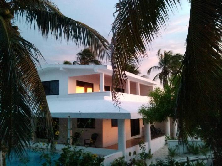 Chelem yucatan mexico renta casa frente al mar en for Terrazas tlahuac