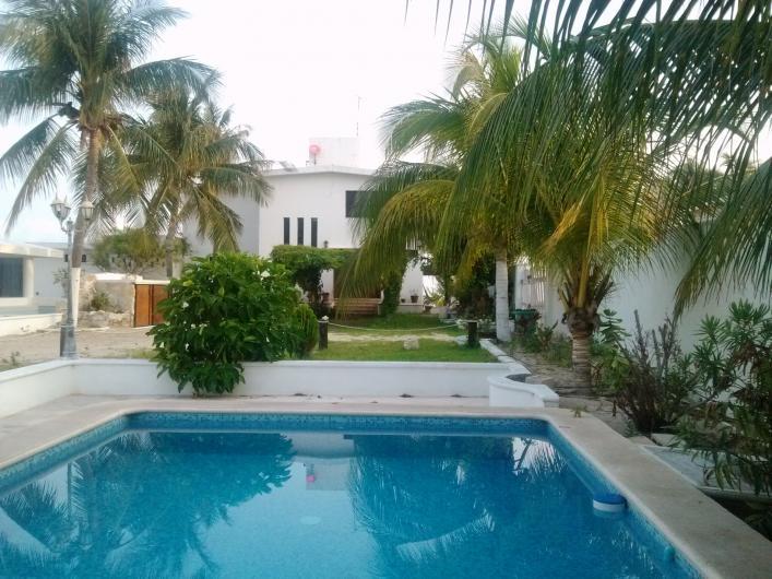 Chelem yucatan mexico renta casa frente al mar en for Casa con piscina para alquilar