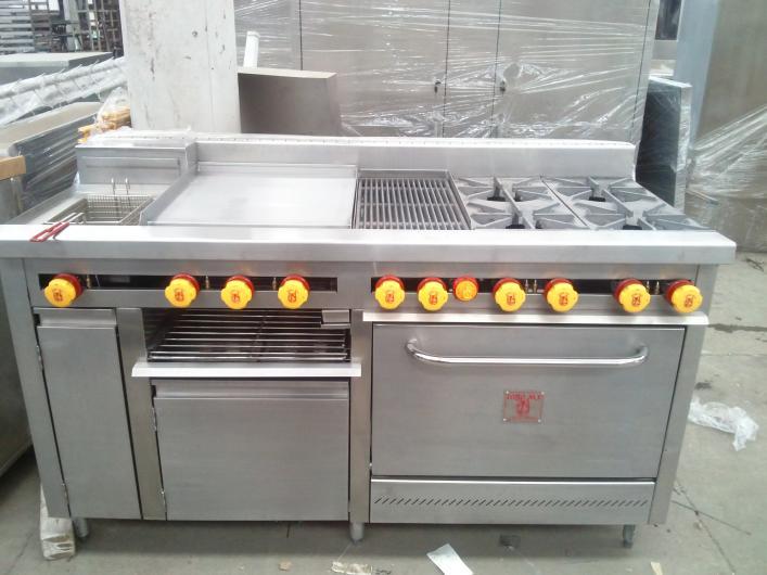 Todo en cocinas muebles y equipos en acero inoxidable en for Cosina para todos