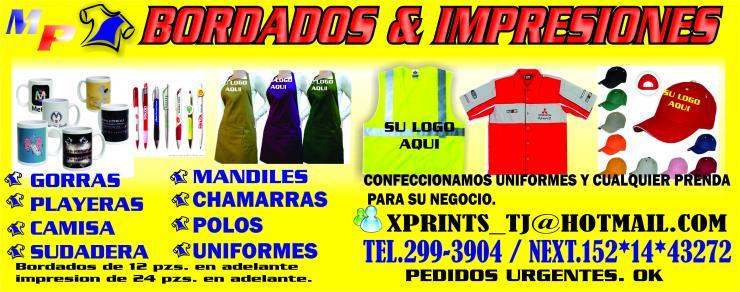 Mp bordados   impresiones-prendas personalizadas en Tijuana ... 015ae1cedbc6c