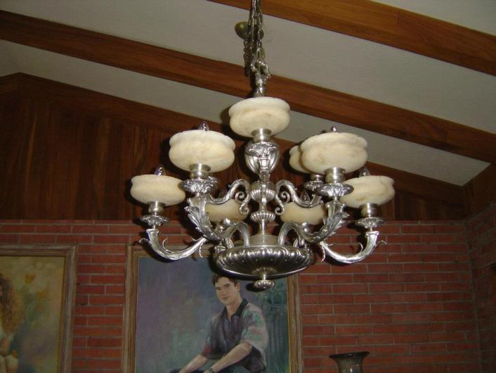 Mejia antiques restauracion reparacion de candiles - Piezas para lamparas ...