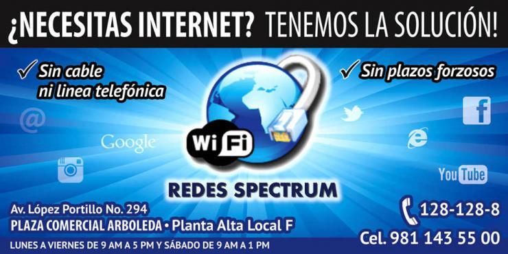 Redes Spectrum Enlaces Inalambricos En Campeche Tel 233 Fono
