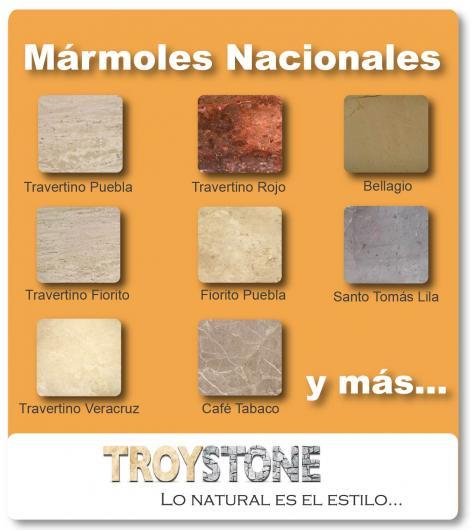 Troystone marmoles y granitos en guadalajara tel fono y for Placas de marmol y granito