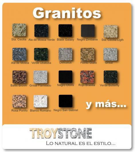 Troystone marmoles y granitos en guadalajara tel fono y for Piedras granitos y marmoles