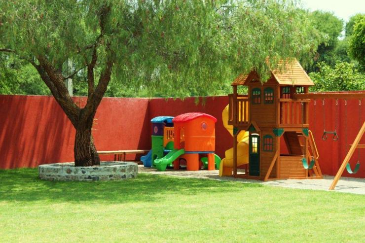 Jard n de fiestas evan kids world en corregidora tel fono for Fiesta de jardin
