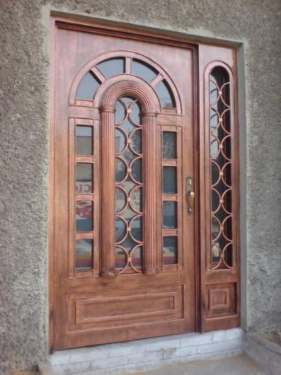Puertas de herreria en mexico pictures to pin on pinterest for Puerta de herreria