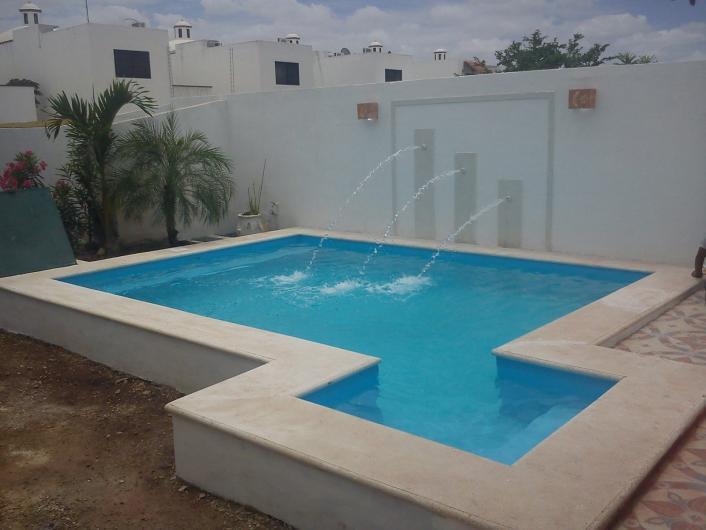 Piscinas de yucat n en merida tel fono y m s info for Construccion de piscinas en mexico