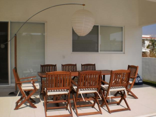 Muebles para terraza dtzalam en tlayacapan tel fono y m s for Muebles terraza teka
