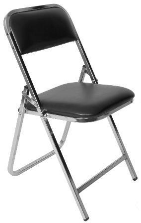 Fyf display sillas plegables acojinadas en cuauhtemoc for Sillas cromadas precios