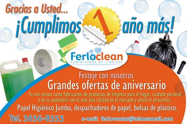 Ferloclean suministros de limpieza en zapopan tel fono y for Anuncios de limpieza