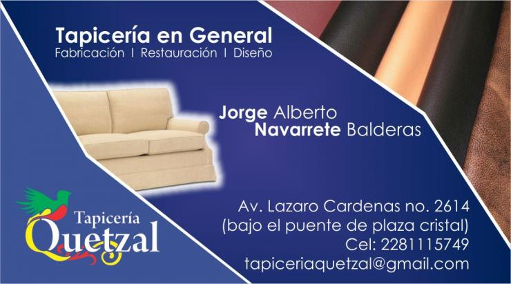 Tapiceria quetzal en xalapa tel fono y m s info - Tapiceros en badalona ...
