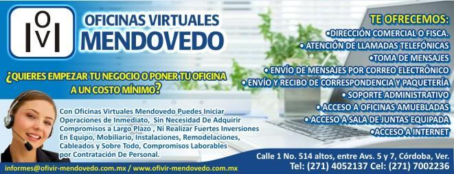 Oficinas virtuales mendovedo en cordoba tel fono y m s info for Oficina virtual telefono