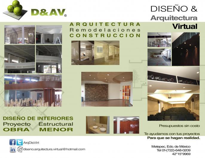 Dise o arquitectura virtual en metepec tel fono y m s info for Arquitectura virtual