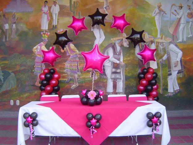 Decoraciones con globos en magdalena contreras la for Decoracion con globos 50 anos