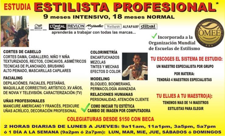 Academia de belleza elite en AZCAPOTZALCO. Teléfono y más info.