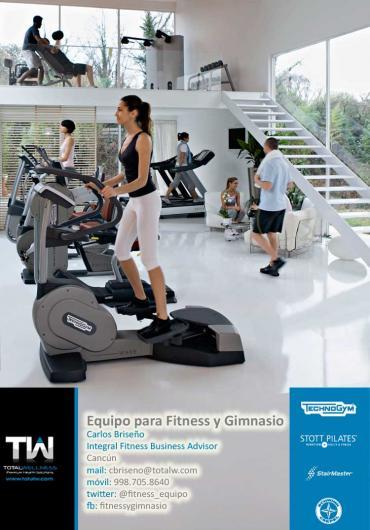Equipo para fitness y gimnasio en canc n tel fono y m s info for Equipo para gym