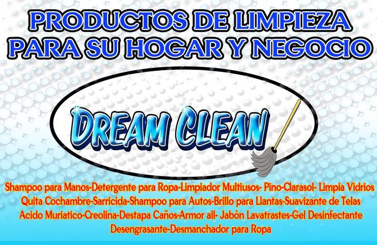 Dream clean productos de limpieza para su hogar y negocio - Limpieza de hogar por horas ...
