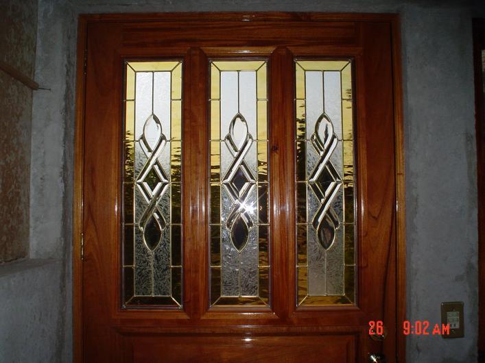 Vitralcris en tlahuac tel fono y m s info - Puertas con cristales biselados ...