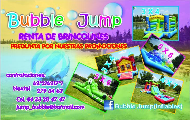Bubble jump inflables en morelia tel fono y m s info for Precio de piletas inflables