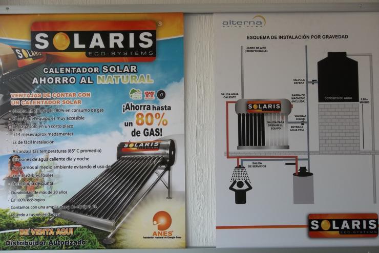 Calentadores Solares Alterna Solaris Ecosystem En