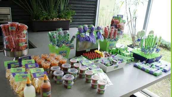 Mesa de postres y dulces bombonette en san luis potosi for Como decorar mesa de postres para baby shower