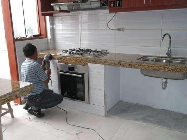 Tableros cocina granito marmol peru en benito juarez for Encimera cocina marmol o granito