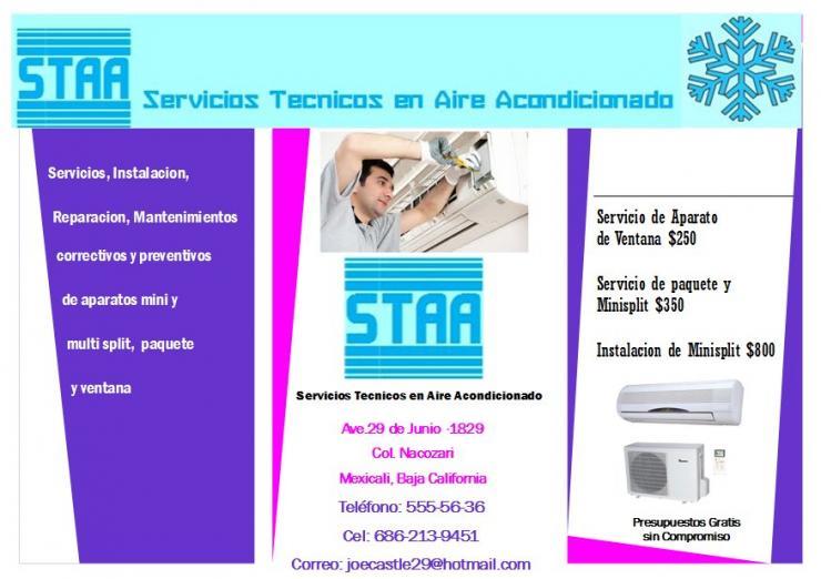 Servicios Tecnicos En Aire Acondicionado En Mexicali