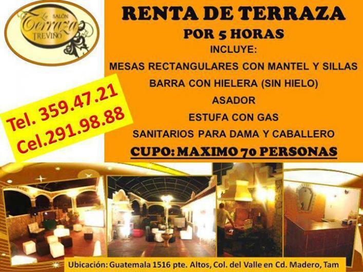 Terraza Treviño En Ciudad Madero Teléfono Y Más Info