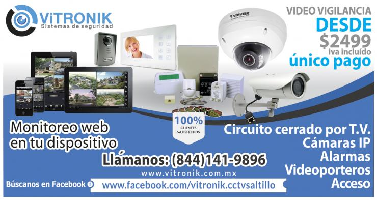 Vitronik sistemas de seguridad en saltillo tel fono y m s - Sistemas de seguridad ...